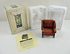 Take A Seat Raine Billiard Room Chair Biltmore Collectable Miniature Dollhouse