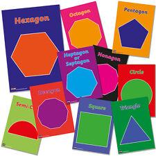 Maths1 - Polygon Maths Poster Pack Classroom Resources