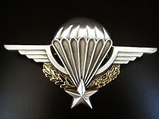 FRENCH ARMY & FOREIGN LEGION PARATROOPER AIRBORNE WINGS BY E.CHOLET FRANCE   -01