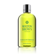 Molton Brown Cardamon & Cedarwood Bath & Shower Gel 300ml - BRAND NEW
