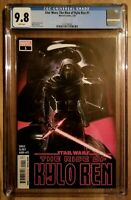 Star Wars The Rise of Kylo Ren 1 NM CGC 9.8 Hot Issue! Movie Television