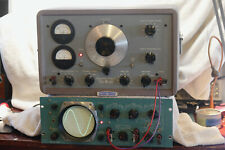 Hewlett Packard 205ag Audio Oscillator Restored Vacuum Tubes Antique From Boeing