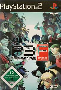 PS2 Shin Megami Tensei 3 FES DEUTSCH OVP Sony Playstation 2 BESTSELLER