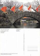1990's THE GATES CENTRAL PARK NEW YORK UNITED STATES UNUSED COLOUR POSTCARD (b)