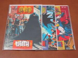 BATMAN LEGENDS OF THE DARK KNIGHT #21 - 23 FN-VF COMPLETE SET FAITH GORDON 1991
