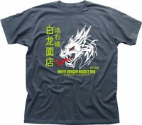White Dragon Noodle Bar Blade Runner 2049 Tyrell Corp charcoal t-shirt FN9215