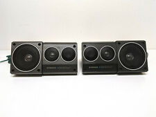 Vintage Pioneer Ts-X7 Surface Mount Speakers - Two Way - Tested
