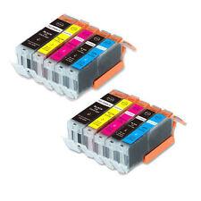 10 PK Printer Ink + Chip for Canon PGI-250 CLI-251 MG5420 MG5422 MG5520 5522