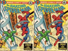 Amazing Spiderman Crisis @ Cape Canaveral 5 Marvel Comics 1982 Toothpaste Promo