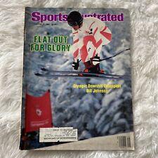 Bill Johnson - Downhill Skiing - Sports Illustrated - February 27, 1984