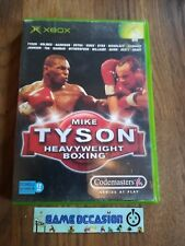 MIKE TYSON HEAVYWEIGHT BOXING XBOX MICROSOFT PAL COMPLET