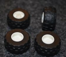 Tires - (4) 24x12 R Lego Tires with White Rims ~ NEW ~ Truck, SUV or Car tires