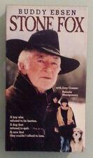 buddy ebsen  STONE FOX  joey cramer   VHS VIDEOTAPE