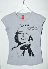 T-SHIRT GRIS MARILYN MONROE TAILLE XS