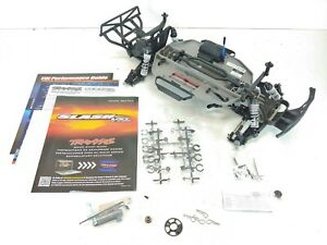 NEW Traxxas Slash 2wd VXL Brushless Edition Slider / Roller Complete Chassis