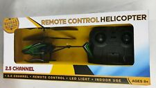 Global Gizmos Infrared Remote Control 2-Channel Black Mini Helicopter BNWB