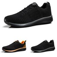 Mens Trainer Sports Mesh Breathable Gym Running Casual Fashion Sneakers Shoes B