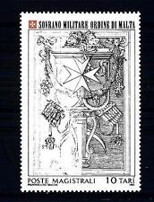 SMOM - 1985 - Chiesa di Santa Maria dell'Aventino: stele nella piazza dei Cavali