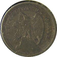 elf Chile 10 Centavos 1921   Condor