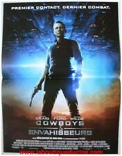 COWBOYS ET ENVAHISSEURS Affiche Cinéma / Movie Poster Daniel Craig 53x40
