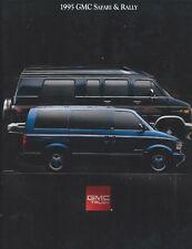 Truck Brochure - GMC - Safari - Rally - Van - 1995 - Auto (T2245)