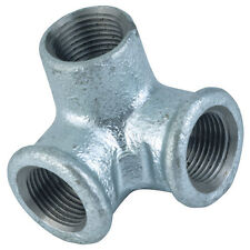"""Galvanised Iron Pipe Fittings - 3/4"""" BSP Double Female Outlet"""