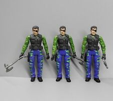 lot 3 THE CORPS! Bravo Team Secret Soldier Force Military Action Figure