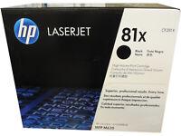 HP CF281X (81X) Hewlett Packard High Yield Black Toner Cartridge Genuine OEM