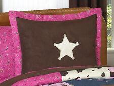 Pillow Sham for Sweet Jojo Designs Western Cow Girl Horse Girl Kid Bedding Sets