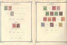 Australien Sammlung 1913 Sich 1960 auf 26 Scott Spezialität Seiten