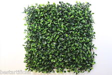 Best Artificial Boxwood Buxus Topiary Mat 25cm x 25cm Garden Hedging 144 Stems