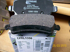 MOTAQUIP LVXL1356 REAR BRAKE PADS FORD G-MAX