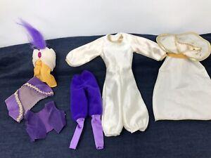 Vtg Aladdin Doll Disney Classic Retired Ken Prince Magic Carpet Barbie Outfit +
