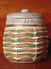Ancienne Céramique Pot Tabac Grès émaillé signé Lucien Brisdoux numéroté 161