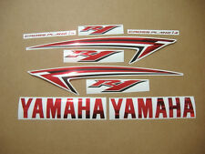 YZF-R1 2010 custom decals stickers graphic set kit 2009-2011 RN22 14b red chrome