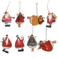 Iron Craft Gifts Xmas Tree Embellishment Drop Ornaments Cartoon Angel Christmas,