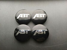 4x 65mm ABT Center Caps Hub Cap Wheel Rim Car Decal Badge (inner 55mm)