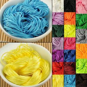 Nylon Cord Thread Chinese Knot  1mm*22M Shamballa Rope For DIY Bracelet Braided
