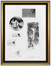 LeRoy Neiman Six Nudes Original Etching Hand Signed Female Portrait Modern Art