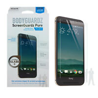 BodyGuardz Pure Case Friendly Tempered Glass Screen Protector For HTC One M9