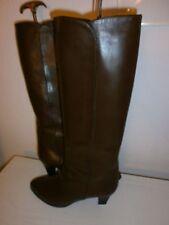 Luxus Stiefeln Gr. 39 braun, aus Italien, echt Rindsleder, echt Leder gefüttert