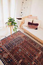 KAPA BURGUNDY TURKISH ORNATE TRIBAL RUG 160X230CM BOHEMIAN LIVING BEDROOM RUG
