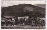 Ansichtskarte Rockenau am Neckar - Blick auf das Sanatorium - schwarz/weiß