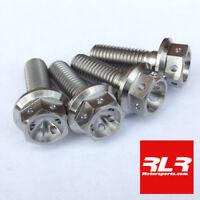 Yamaha R6 5EB Titanium Caliper bolts M10x30 drilled head