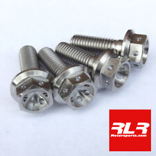 Yamaha R6 5EB Titanium Caliper bolts M10x30 drilled head