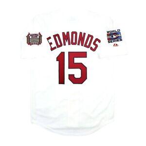 Jim Edmonds St. Louis Cardinals 2006 World Series Home Jersey Men's (M-2XL)