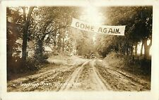 Horse & Buggy, Banner, Greetings From Nehawka NE RPPC 1914