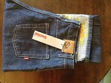 Seal Kay womens jeans ( floral turn-ups) 31' 32L