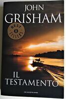 IL TESTAMENTO JOHN GRISHAM OSCAR BEST SELLERS MONDADORI 1° Ed. 2000 (Come Nuovo)