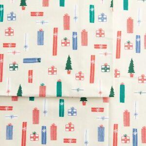 Cuddl Duds Heavyweight Flannel Gifts Sheet Set - New -  QUEEN